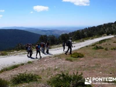 Collado de Marichiva - Ruta de Senderismo Madrid a Segovia; tiendas montaña madrid; laguna grande d
